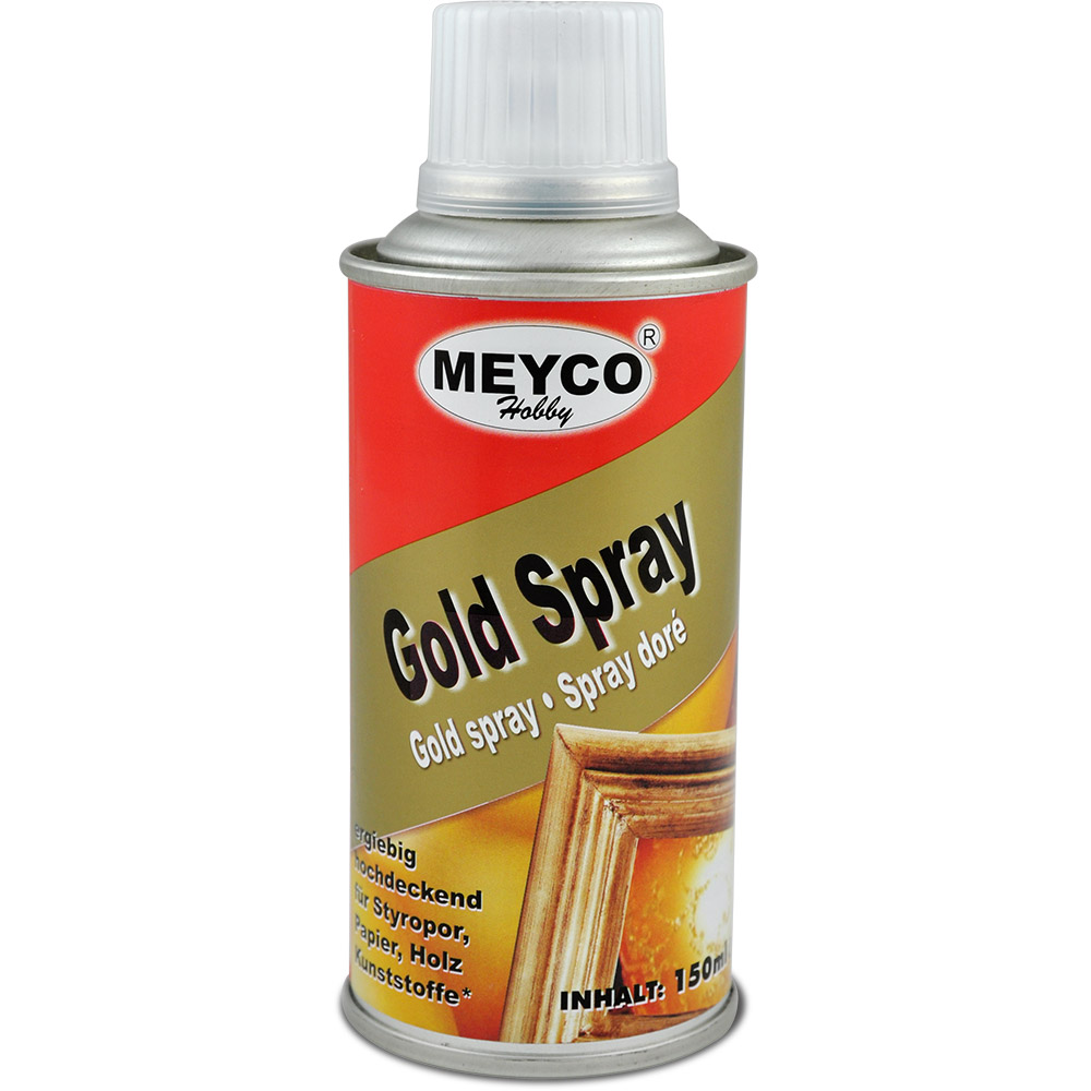 Goldspray MEYCO, 150ml Sprühdose