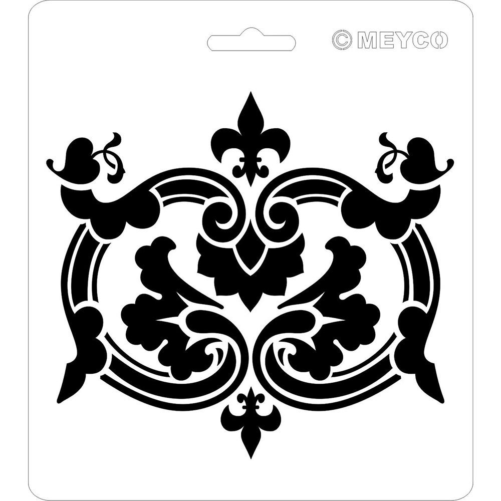 schablone - ornament [66022] : meyercordt gmbh