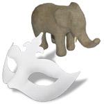 Masken & Pappmachè-Figuren